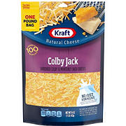 Kraft Colby Jack Shredded Natural Cheese, 2 pk./16 oz.