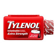 Tylenol Extra Strength 500 mg Caplets Fever Reducer and Pain Reliever, 325 ct.