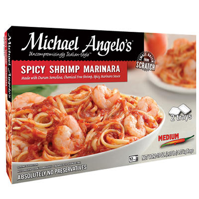 Michael Angelo's Spicy Shrimp Marinara, 2 ct./19 oz.