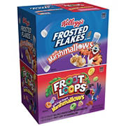 Kellogg's Frosted Flakes and Froot Loops Cereal Variety Pack, 2 pk./29 oz.