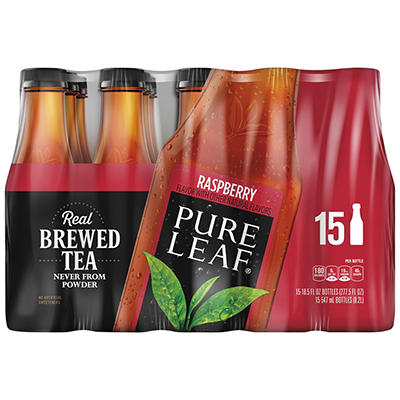 Pure Leaf Raspberry Ice Tea, 15 pk./18.5 fl. oz.