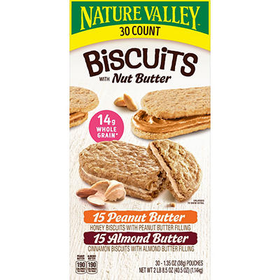 Nature Valley Biscuits Variety Pack, 30 ct./1.35 oz.