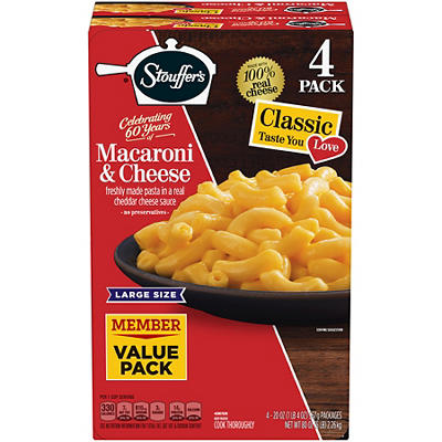 Stouffer's Mac and Cheese, 4 ct.