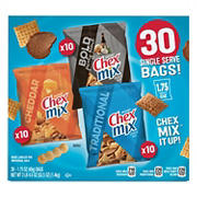 Chex Mix Classics Snack Mix, 30 ct.