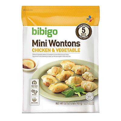Bibigo Chicken & Vegetable Mini Wontons, 32 oz.