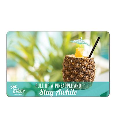 $25 Bahama Breeze Gift Card, 3 pk.
