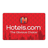 $100 Hotels.com Gift Card Deals