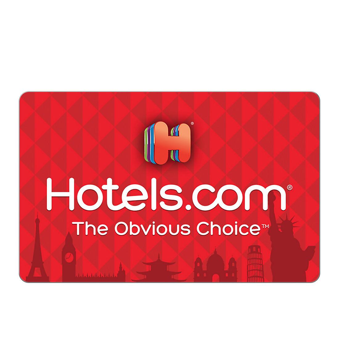 $100 Hotels com Gift Card