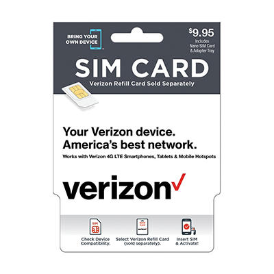 Verizon SIM Card Kit