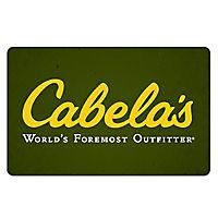 3 X $25 Cabela's Gift Card
