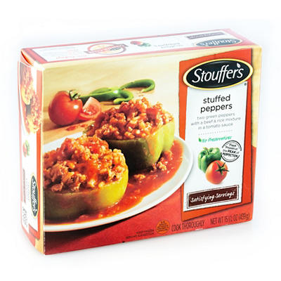 Stouffer's Stuffed Peppers, 4 pk.