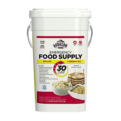 Augason Farms Emergency Food Storage Pail, 30 Days, 1 Person