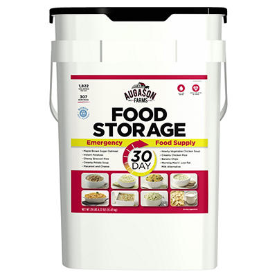 Augason Farms Deluxe Emergency Food Storage Pail, 30 Days, 1 Person