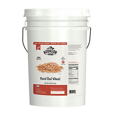 Augason Farms Hard Red Wheat Pail, 40 lbs.