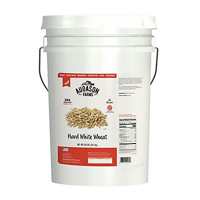 Augason Farms Hard White Wheat Pail, 40 lbs.