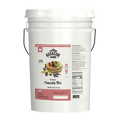 Augason Farms Buttermilk Pancake Mix Pail, 28 lbs.