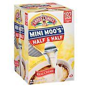 Land O'Lakes Mini Moo's Half & Half, 192 ct./0.28 fl. oz.