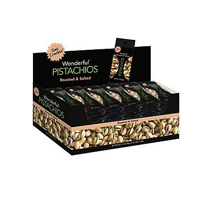 Wonderful Pistachios, 24 ct./1.5 oz.