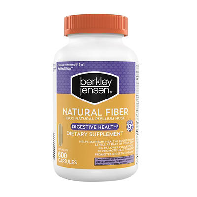 Berkley Jensen Natural Fiber Capsules, 600 ct.