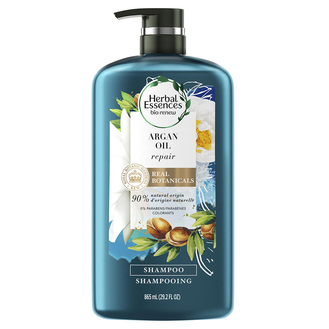 photograph relating to Herbal Essences Coupons Printable called Natural Essences bio:renew Argan Oil of Morocco Shampoo, 29.2 fl. oz.
