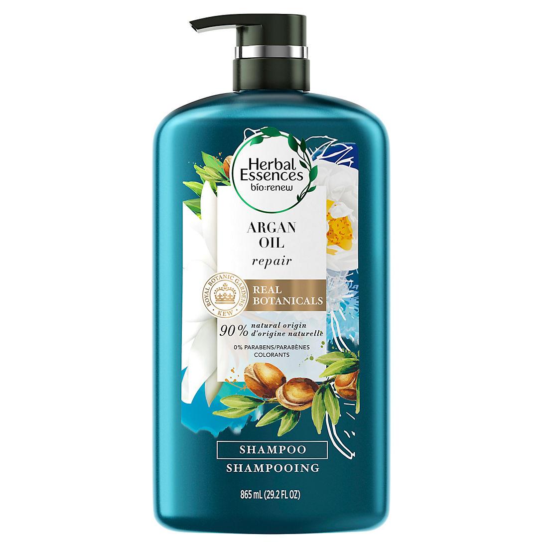 graphic regarding Herbal Essences Coupons Printable named Natural Essences bio:renew Argan Oil of Morocco Shampoo, 29.2 fl. oz.