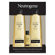 Neutrogena Body Oil Light Sesame Formula Sesame Oil, 2 pk./16 fl. oz. with Bonus 1 fl. oz. Bottle