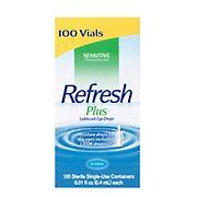 Refresh Plus Eye Drops, 100 ct./0.01 fl. oz.