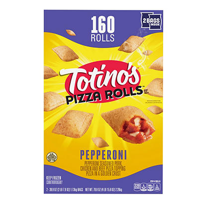 Totino's Pepperoni Pizza Rolls, 160 ct.