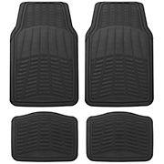 Michelin Rubber Universal 4-Pc. Car Mat Set - Black