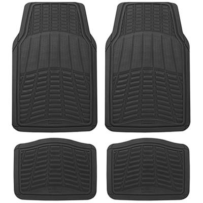 Michelin Rubber Universal 4-Pc. Car Mat Set - Black