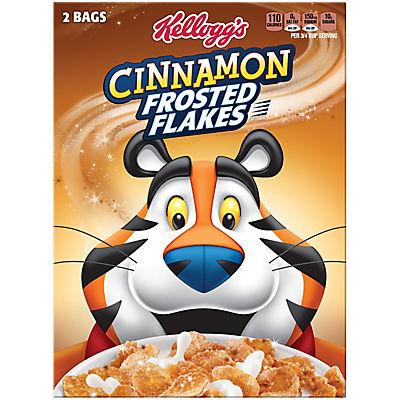 Kellogg's Cinnamon Frosted Flakes, 55 oz.