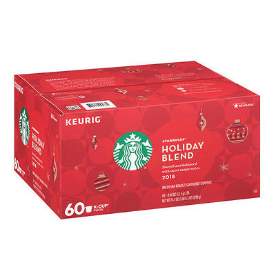 Starbucks Holiday Blend K-Cup Pods, 60 ct.
