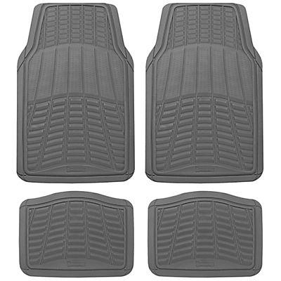 Michelin Rubber Universal 4-Pc. Car Mat Set - Gray