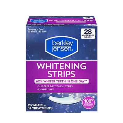Berkley Jensen Whitening Strips, 28 ct.