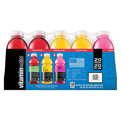 Glaceau Vitamin Water Variety Pack, 20 pk./20 fl. oz.