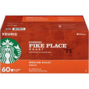 Starbucks Pike Place K-Cup Pods, 60 ct.