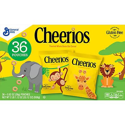 Cheerios Pouches, 36 pk./0.92 oz.
