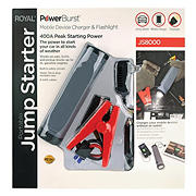 Royal 400-Amp Portable Jump Starter - Black