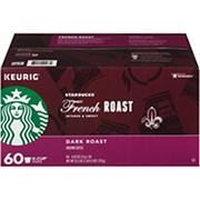 Starbucks French Roast K-Cup Pods, 60 ct.