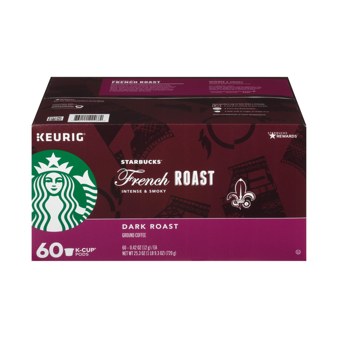 picture about Starbucks K Cups Printable Coupons called Starbucks French Roast K-Cup Pods, 60 ct.