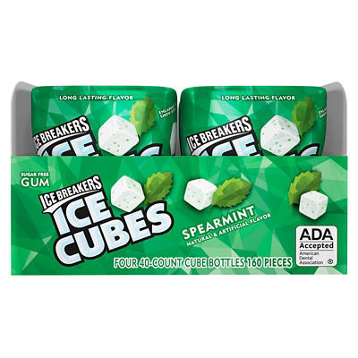 Ice Breakers Spearmint Ice Cubes, 4 pk./40 ct.