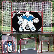 EZ Goal 10' x 6' Complete Hockey Trainer