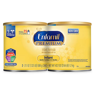 Enfamil Premium Infant Formula, 2 pk./21.1 oz.