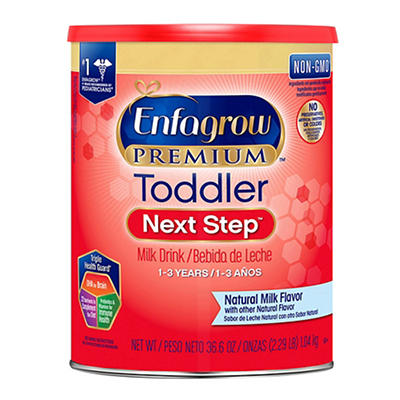 Enfagrow Premium Toddler Next Step Milk Drink, 36.6 oz.