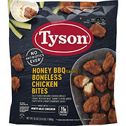 Tyson Frozen Boneless Chicken Bites, Honey BBQ, 3.5 lbs.