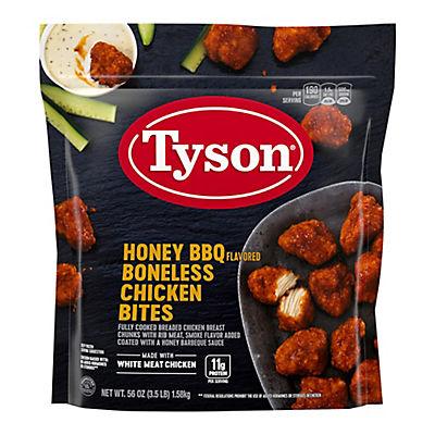 Tyson Frozen Boneless Chicken Bites, Honey BBQ, 3.5 lbs.