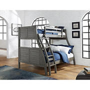 Duffy Twin over Full Bunk Bed - Grey
