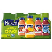 Naked 100% Juice Smoothies Variety Pack, 12 ct./10 fl. oz.