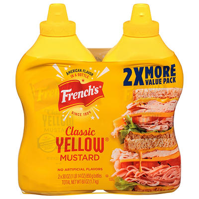 French's Yellow Mustard, 2 pk./30 oz.