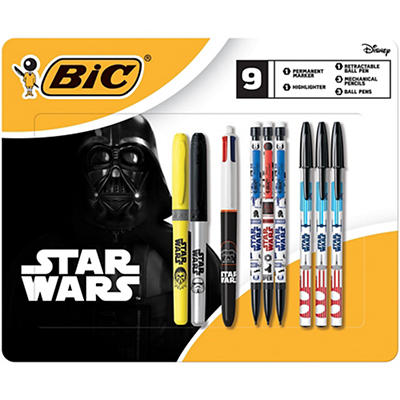 BIC Star Wars Writing Pack - Assorted
